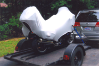 Yamaha FJR with Geza Motorcycle Cover